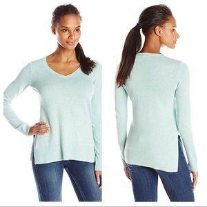 Lilla P Tunic Pullover Cotton Side Slits NWT